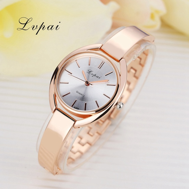 Lvpai Brand Luxury Bracelet Watches Women Fashion Ladies Creative Wristwatch Lad