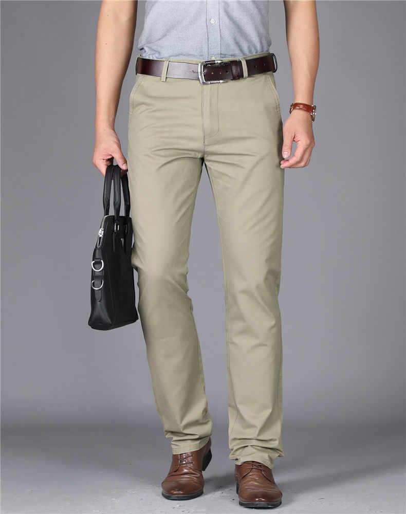 Mrmt 2021 Nueva Marca Para Hombre Pantalones De Talle Alto De Color Puro De Los Hombres Pantalones Para Hombre De Algodon Pantalon Fino Hombre Pantalon Recto Pantalones Informales Aliexpress