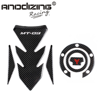 3D ADESIVI MOTO Sticker Decal Emblem Protection Tank Pad Gas Cap two part combination for YAMAHA MT 09