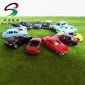 C2016 10 pcs modelo cars liga 1: 87 escala ho tt para a construção ferroviária trem cenário nova