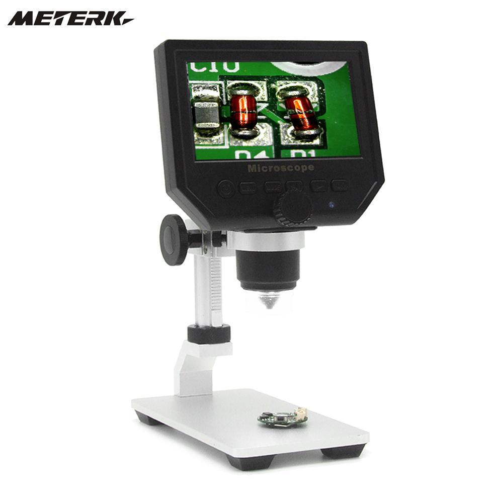 600X4.3 3.6MP Électronique Numérique Vidéo usb Microscope LED Loupe microscopio pour Mobile Téléphone Entretien QC/Industria