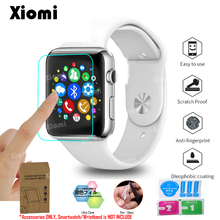 10Pcs/Lot(5Films+5Wipes)For iWatch Apple Watch Series 1/2/3 4 38/42mm 40/44mm TPU PET Protective Film Screen Protector Cover