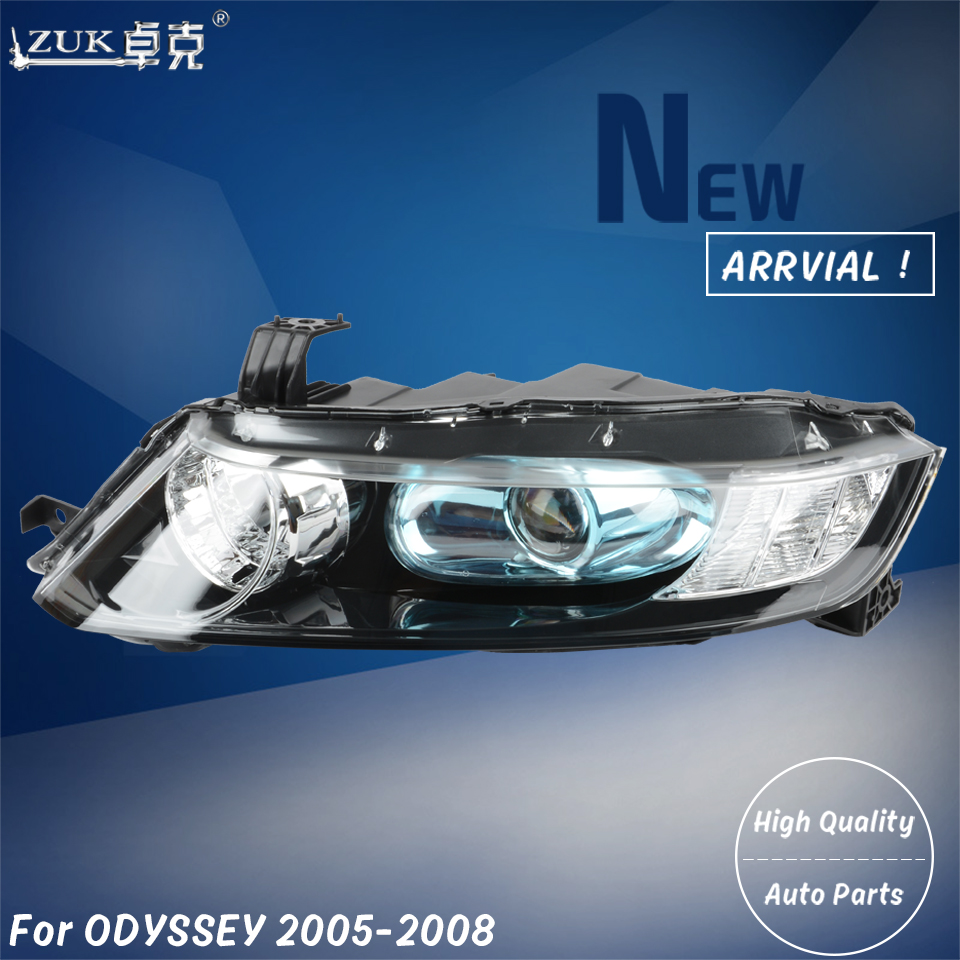 Zuk Brand New High Quality Left Right Front Headlight Headlamp Head Light Lamp For Honda Odyssey Rb1 2005 2006 2007 2008