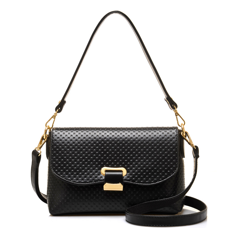 European and American Style Fashion Floral Women's Leather Handbags Shoulder CrossBody Bags Fashion Soft Women Bags