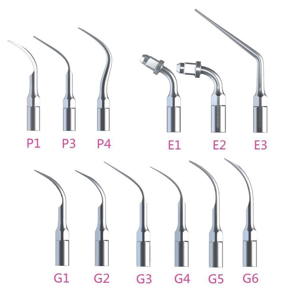 12xSCALING ENDO PERIO dental scaler tips fit EMS & WOODPECKER 2017 new 2 boxes dental original woodpecker niti endo endodontic u file optional 15  40 used for root canal cleaning
