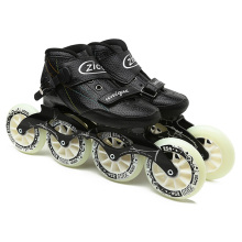 Speed Inline Skates Carbon Fiber 4*90/100/110mm Competition Skates 4 Wheels Street Racing Skating Patines Similar Powerslide 3x110mm slalom convert to inline speed skates frame with 11 25 3 layers 110mm wheels racing patines basin base 150mm to 180mm