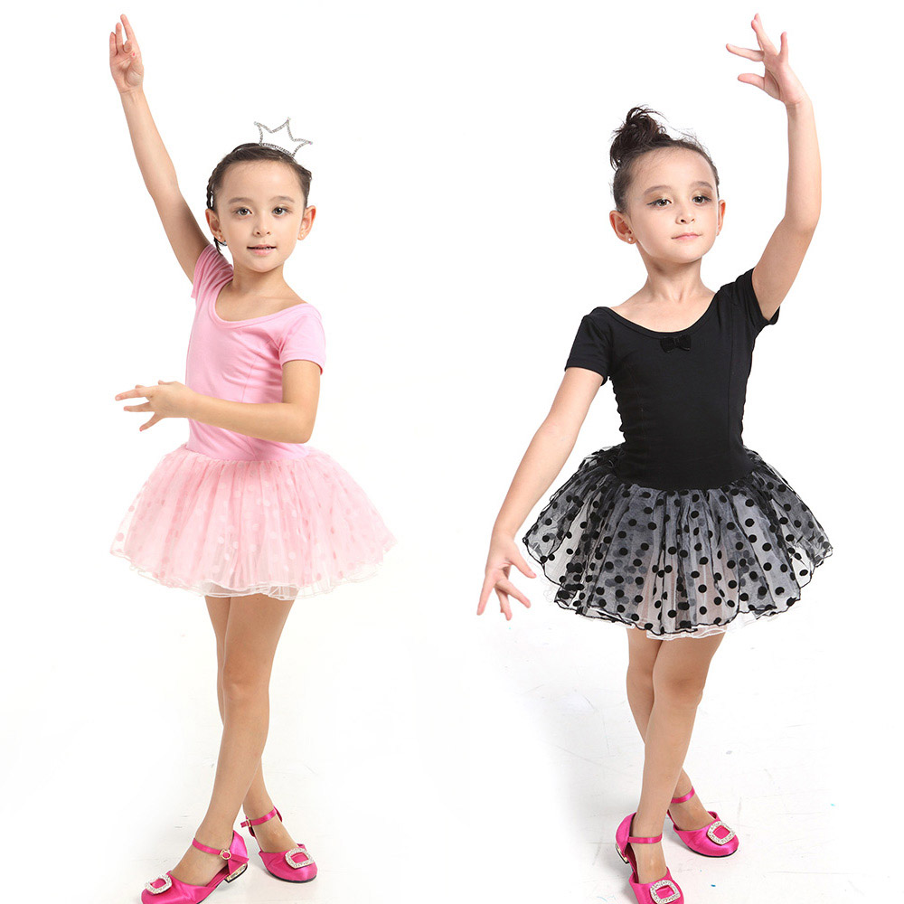 f1d0718b9 2017 Kids Baby Girl Ballet Dancing Dress Child Short Sleeve Tutu ...