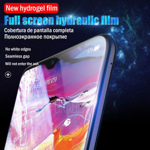 Image 2 - 10D Bảo Vệ Màn Hình Trong Cho Samsung Galaxy A51 A50 A70 A71 Note 20 10 Lite 9 8 S20 Cực Hydrogel Cho M31 s10e S8 S9 Plus Bộ Phim Không Kính