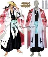 Bleach 8th Division Captain Kyouraku Shunsui Cosplay Costume E001