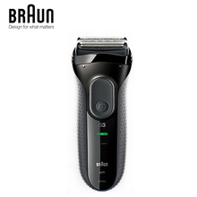 Braun Series 3 3000 วินาทีไฟฟ้ามีดโกน 3 ได้อย่างอิสระโกนหนวด Elevments แห้งเปียกเครื่องโกนหนวดไฟฟ้า