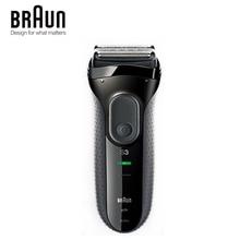 Braun Series 3 3000 s Nam Electric Razor Dao Cạo 3 Độc Lập Nổi Cạo Râu Elevments Khô & Ướt Máy Cạo Râu Điện