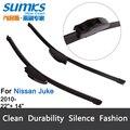 """Escovas para Nissan Juke (a partir de 2010) 22 """"+ 14"""" fit padrão J gancho limpador braços só HY-002"""