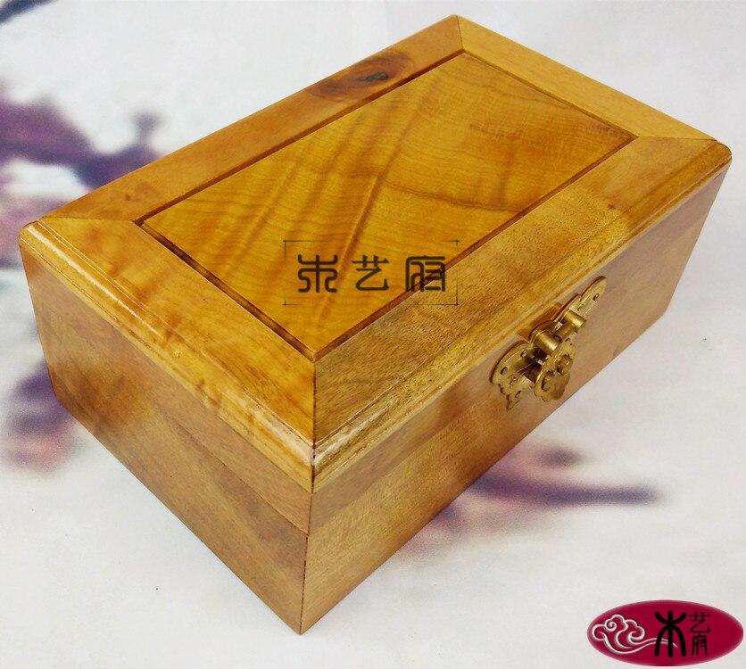 Золото Фиби плотная красная Шкатулка резная деревянная мебель украшения центов за ремесло шкатулка коробка для хранения свадебный подарок