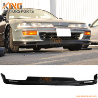 For 1992 1993 Acura Integra Mugen Style Front Bumper Lip Spoiler Urethane