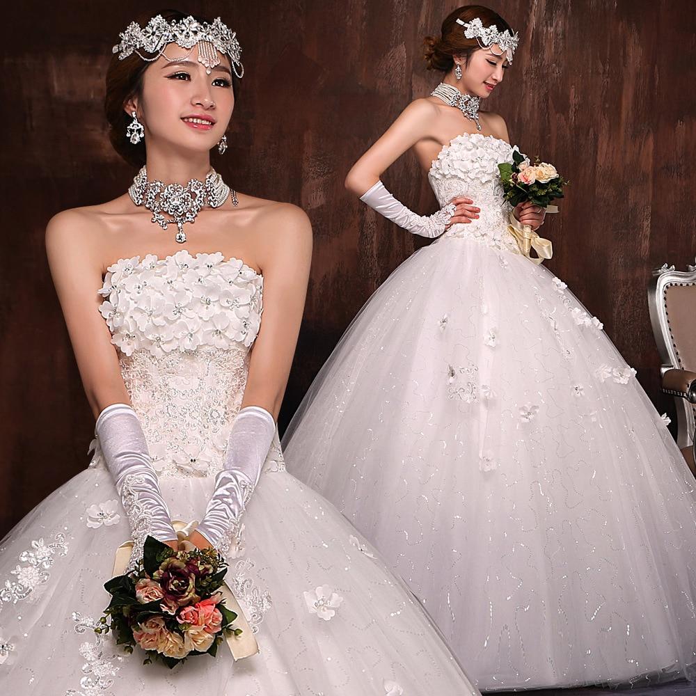 Korean Lace Bridal White Princess Tutu Bra Qi Wedding