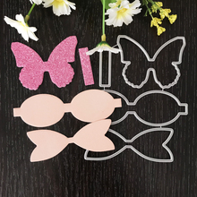 New Bowknot Metal Cutting Dies for Scrapbooking DIY Album Embossing Folder Paper Cards Maker Template Decor Stencils Craft