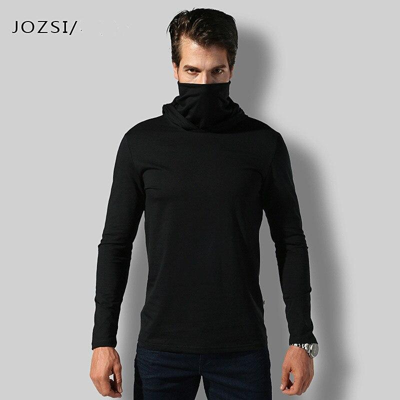 New Turtleneck Shirt  Men Tactical Male Long Sleeve Breathabel Warm Shirt 2018 Men Cotton Keep Warm Taktischer Pullover