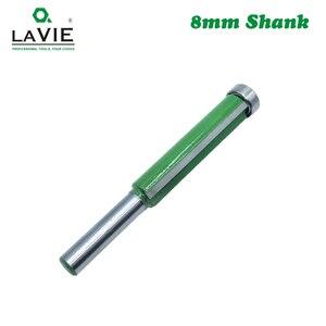 """Image 5 - 1 Pc 8 Millimetri Shank 2 """"Flush Trim Router Bit con Cuscinetto per Il Legno Modello Modello di Bit Carburo di Tungsteno fresa per Legno 02017"""