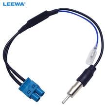 Leewa adaptador de antena de rádio falsa rf, dupla entrada para volkswagen rns510/rcd510/310/golf/mk5/mk6/passat b6/b7/tiguan