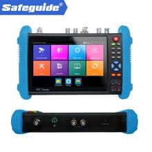 Лидер продаж, новые продукты, Многофункциональный тестер камеры видеонаблюдения 5 МП, 4 МП, AHD, TVI, CVI, устройство для измерения яркости, встрое...