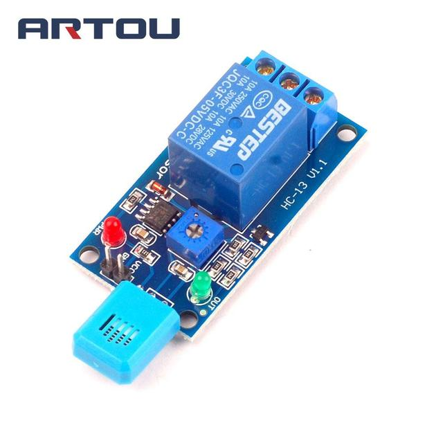 1PCS 5V Humidity Sensitive Switch Relay Module Humidity Controller Humidity Sensor Module