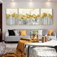 3 предмета в комплекте золото книги по искусству абстрактная живопись акрил холст картины quadro caudro decoracion стены картины для гостиная