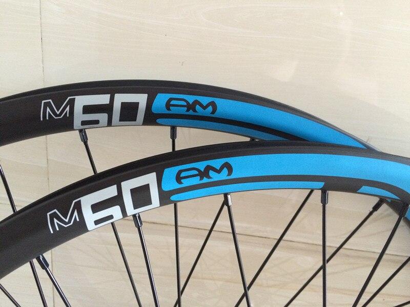 29er mtb wheels carbon clincher 25mm tubeless 27.5er mountain bike ...