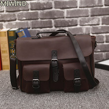 men bag vintage postman bags mens business laptop retro top-handle Bags  leather handbag male 02dd5b21f2e69