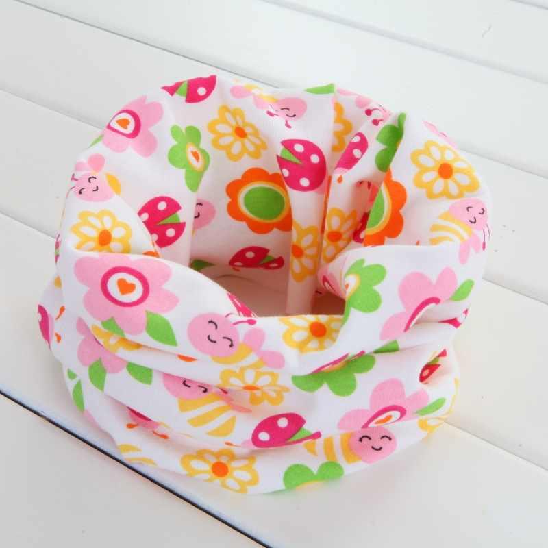 コットンベビースカーフ冬子供たちが赤ちゃんネック首輪ガールズ O リングスカーフ春の秋スカーフアクセサリー
