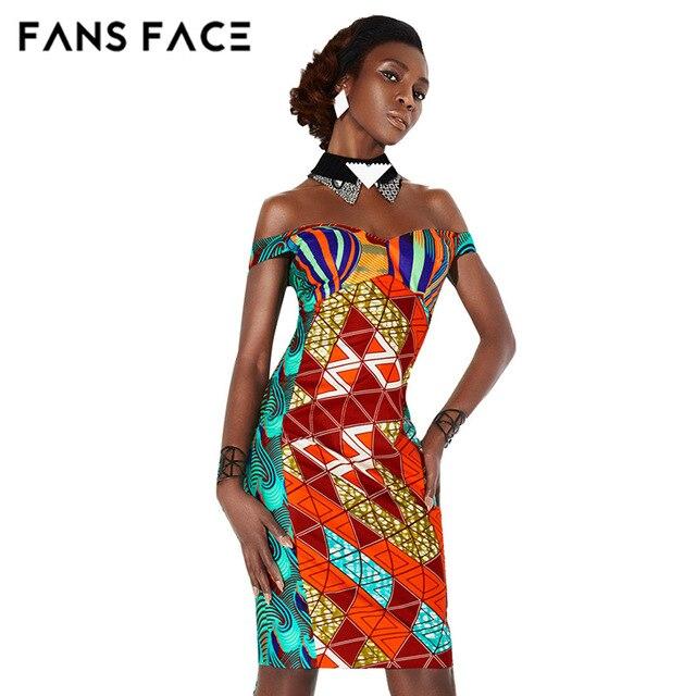 03c0bacdd12f FANS VISO 2017 Dashiki African Abiti Per Le Donne Africane Tradizionale  Personalizzato Privato Vestiti di Un