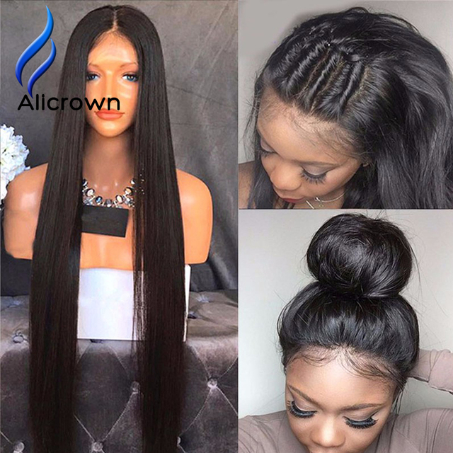 Factory Price Glueless Full Lace Human Hair Wigs With Baby Hair Human Hair Lace Front Wigs Black Women U Part Wig Virgin Hair