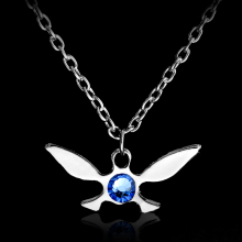 Legend of Zelda Necklace Zelda Triforce Pendant Necklace Jewelry Butterfly Charm Papillon Necklace Gold Silver necklaces
