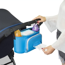Baby Stroller Bag baby Travel Mummy bag multi-function Care accessories Storage Bag large Capacity Diaper Bag mummy multifunction baby care food thermal insulation storage case large capacity handbag hanging baby stroller accessories