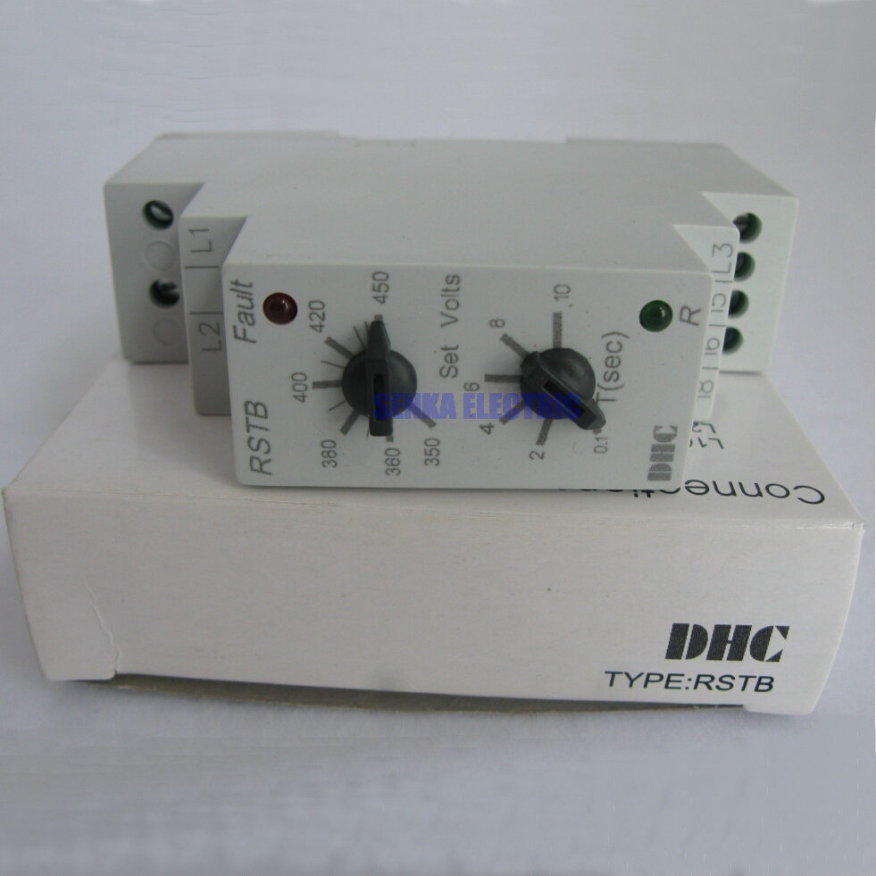 DHC1X-T RSTB 3 Phase Missing Phase Supply Control Relays 8a malaysian full lace straight human hair wigs for black women virgin human hair straight full lace