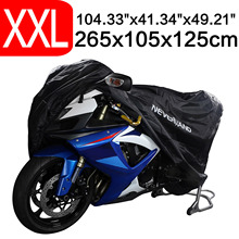 265x105x125 190T Waterproof Motorcycle Motor Bike Scooter Protector Cover Full Indoor Outdoor Dust Snow Rain UV Covers Universal