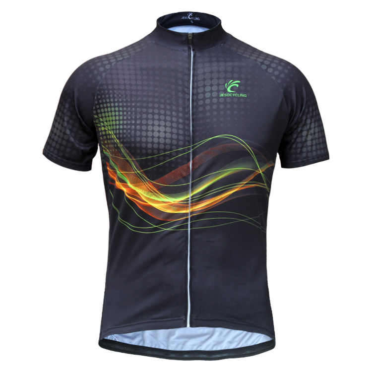 JESOCYCLING Men's Cycling Jersey Summer Sublimated Printing Cycling Clothing Factory Directly Sale Outdoor Sports Bike Wear