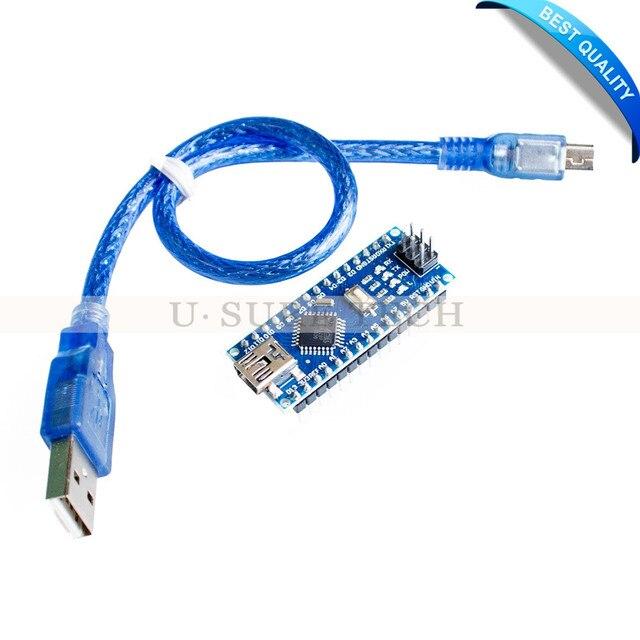 Nano V3.0 Controller ATMEGA328P ATMEGA328 Compatible with Arduino Nano CH340 USB Driver with CABLE NANO 3.0