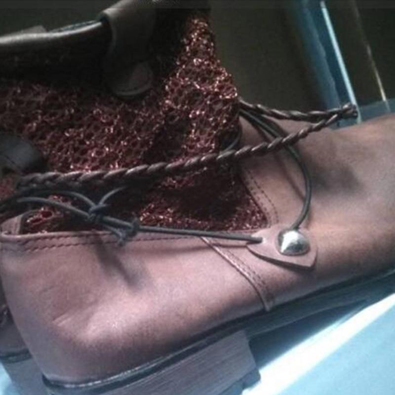 Mujeres Botines Par Gótico Martin Brown Mujer Motor Flete De Redonda black Cortas Cuero Zapatos Punky Punta 1 Botas Estilo Calle 51qpxtqw