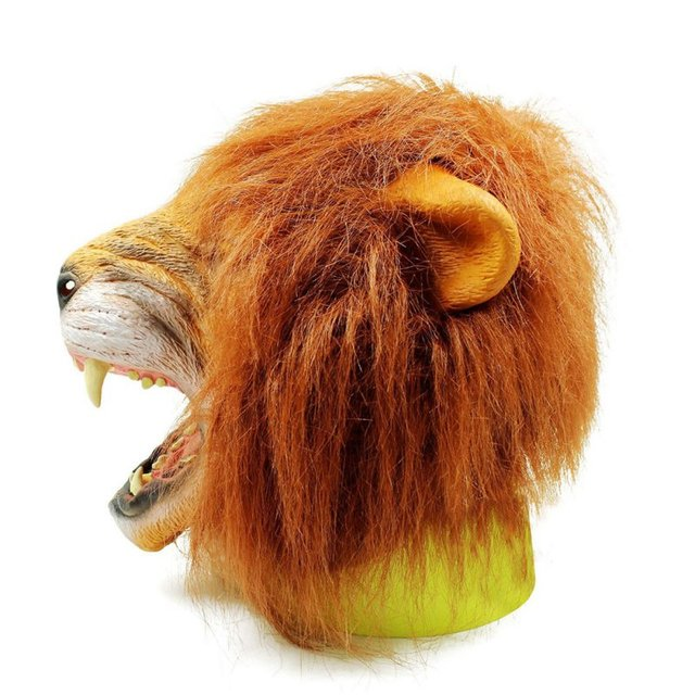 Angry Lion Head Masks