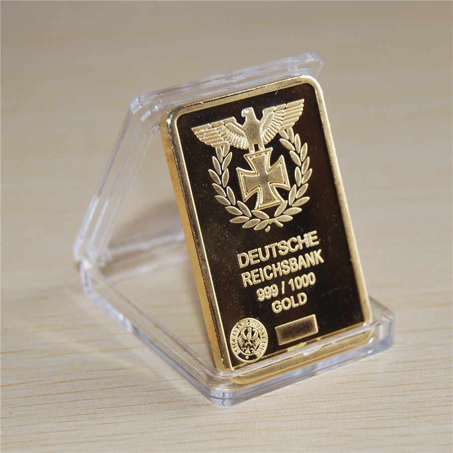 Detail Feedback Questions about NEW 1 Oz 24k Gold German IRON CROSS