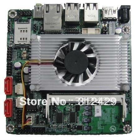 AMD1.6GHz Dual Core 1M cache(Dual Core) Nano-ITX motherboard support 1080P (ITX-A8HD)