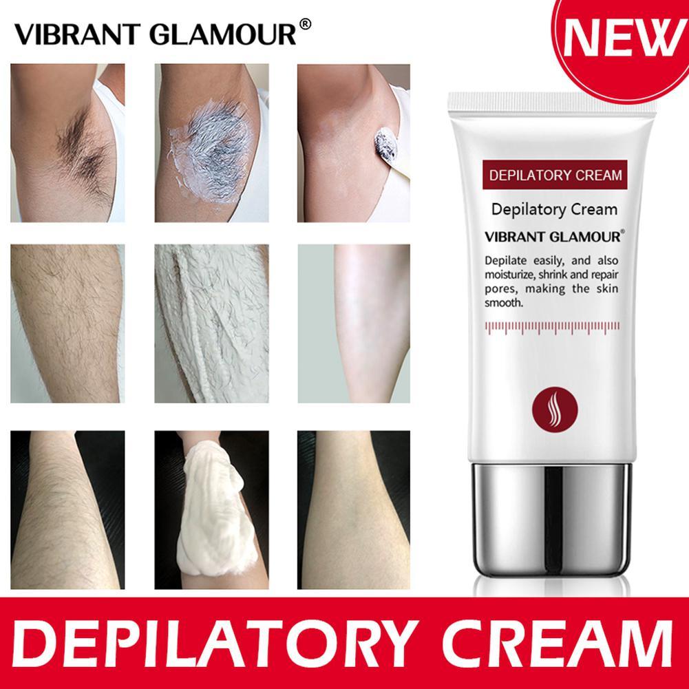 VIBRANT GLAMOUR Hair Removal Cream Painless Depilatory Cream Armpit Legs Arms Hair Removal Nourishing Repair Cream