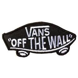 10 pcs Nouveaux Produits Vans sur le mur SKATEBOARD FER SUR PATCHS Coudre Motif Appliques BRICOLAGE Accessoires Patch