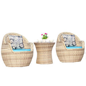 Garden Set Outdoor Furniture rattan garden furniture patio furniture muebles de jardin 1 table+2 chairs Balcony 3 pieces set