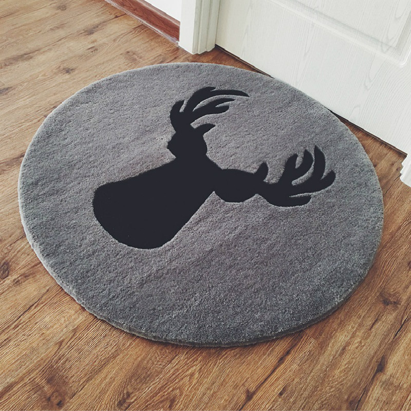 WINLIFE Modern Simple Style Carpets Soft Wapiti Rugs Area Mats For Living Room Bedroom Non Silp