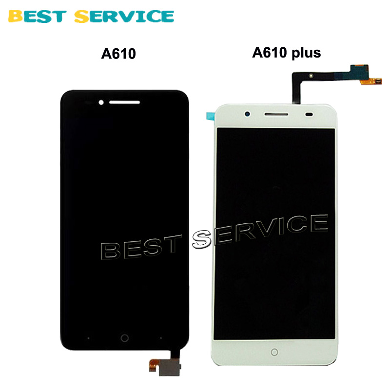 For ZTE Blade A610 / A610 plus LCD Display with Touch Screen