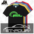Fast and Furious 7 T-shirt Vin Diesel Men t shirt auto racing clothing GT4