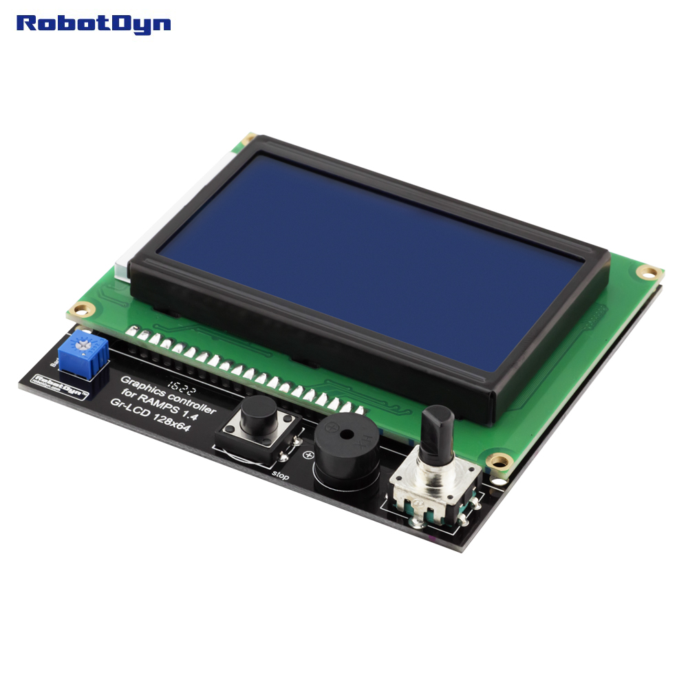 3D printer display Smart Controller RAMPS 1.4, Graphic LCD ...
