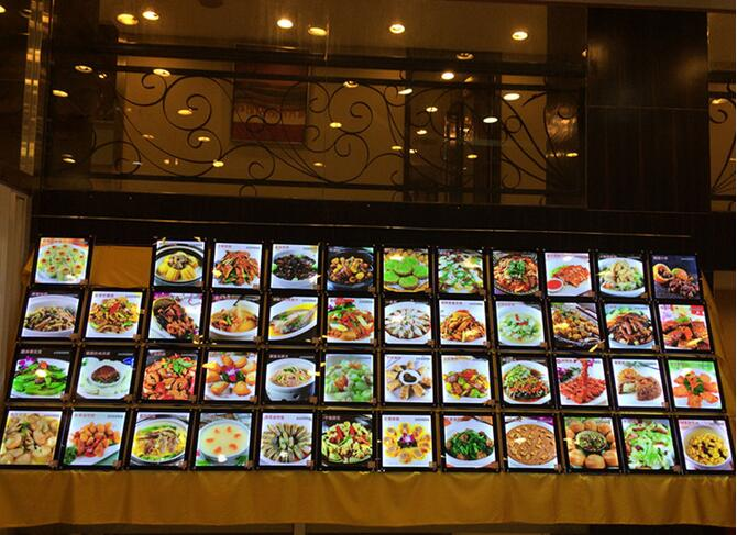 Acrylic frameless led panel black corlor frames a3 size led light box advertising products for food restaurant menu oem odm standard waterproof led display panel for p5 p10 320mm 160mm led modules box size 960mm 480mm