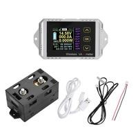 Wireless Voltmeter Multi function Wireless Color LCD Screen DC Voltage Tester Ammeter Power Meter Watt Tester